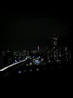 本日の夜景