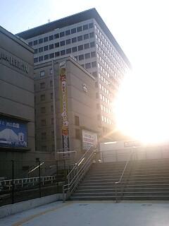 無事、大阪着