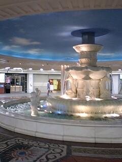 ウメ地下、泉の広場