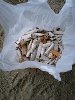 ひとりポイ捨てタバコ撲滅運動