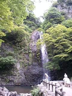 箕面の滝 三景