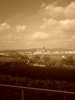 セビアな風景