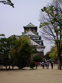 仁醒のてくてく街歩き 「大阪城」