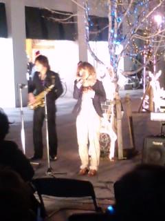 クリスマス野外ミニコンサート