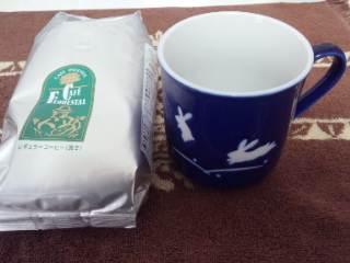森のコーヒー  カフェーパウリスタ