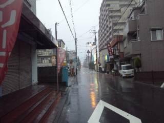 早朝から大雨、それでも、、、