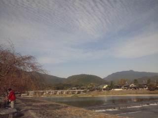 京都嵐山、天龍寺庭園
