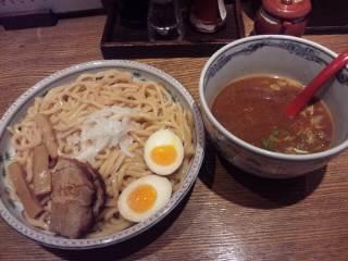 梅田茶屋町 「麺屋 六三六」こがし味噌つけ麺