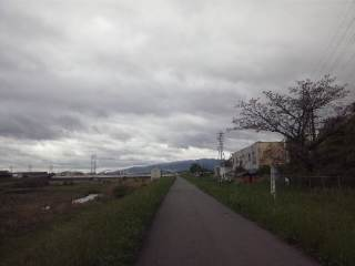 猪名川沿いサイクリングロード