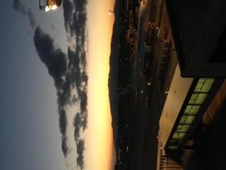 黄昏の伊丹空港三景