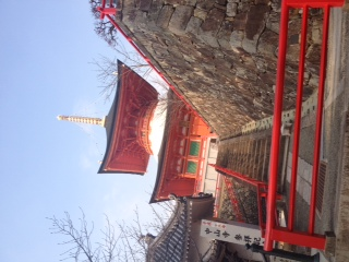 中山寺三景